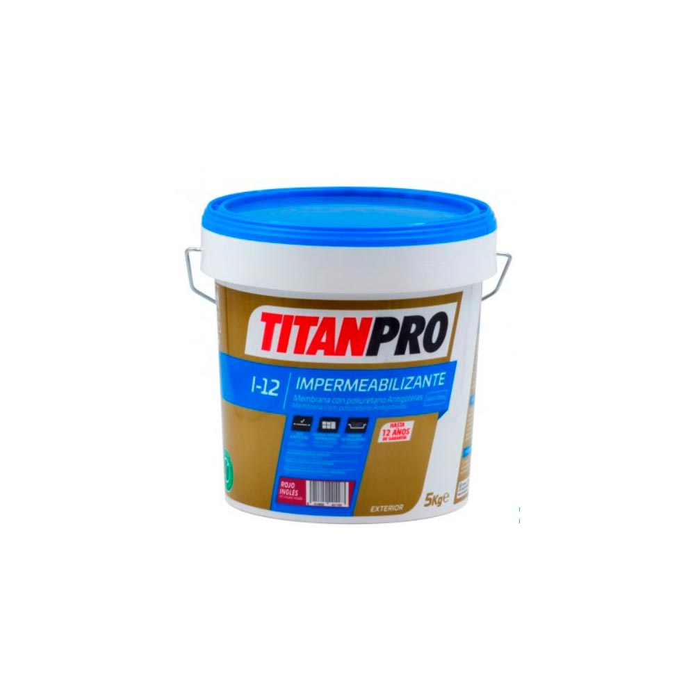 Impermeabilizante membrana con poliuretano I12 Titanpro 1