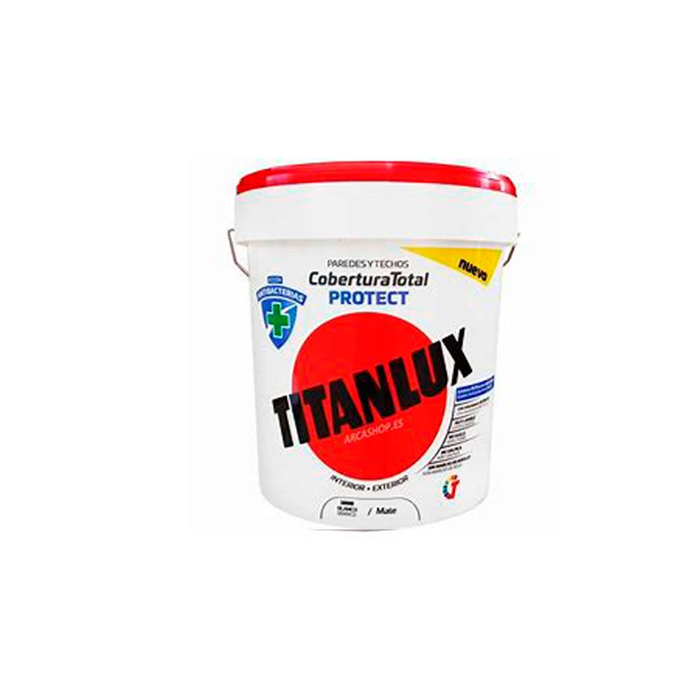 titanlux Cobertura totoal anti bacterias