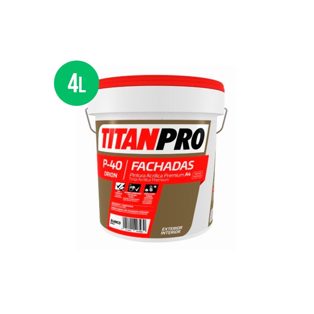 Titan Pro P40 Verde 4L